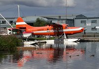 A Turbo Otter on Lake Hood at Anchorage